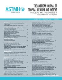 Cover The American Journal of Tropical Medicine and Hygiene